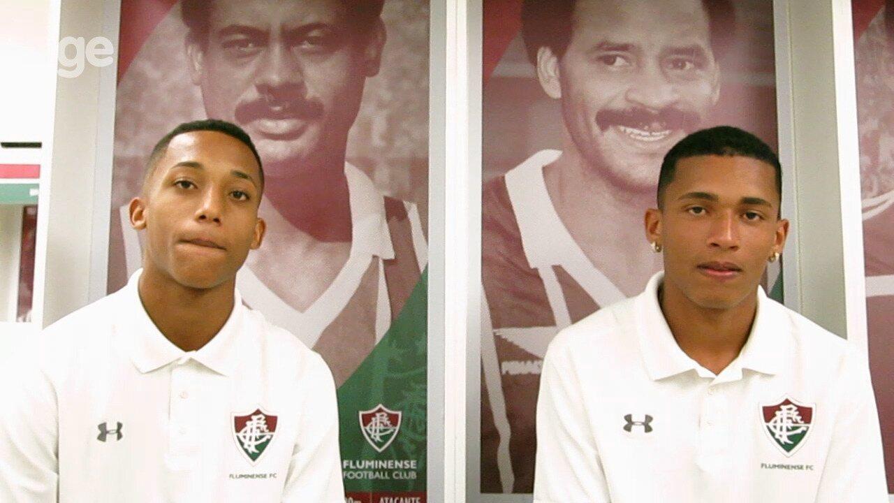 Casal sub-20'': Marcos Paulo e João Pedro falam sobre dupla que marcou época no Fluminense