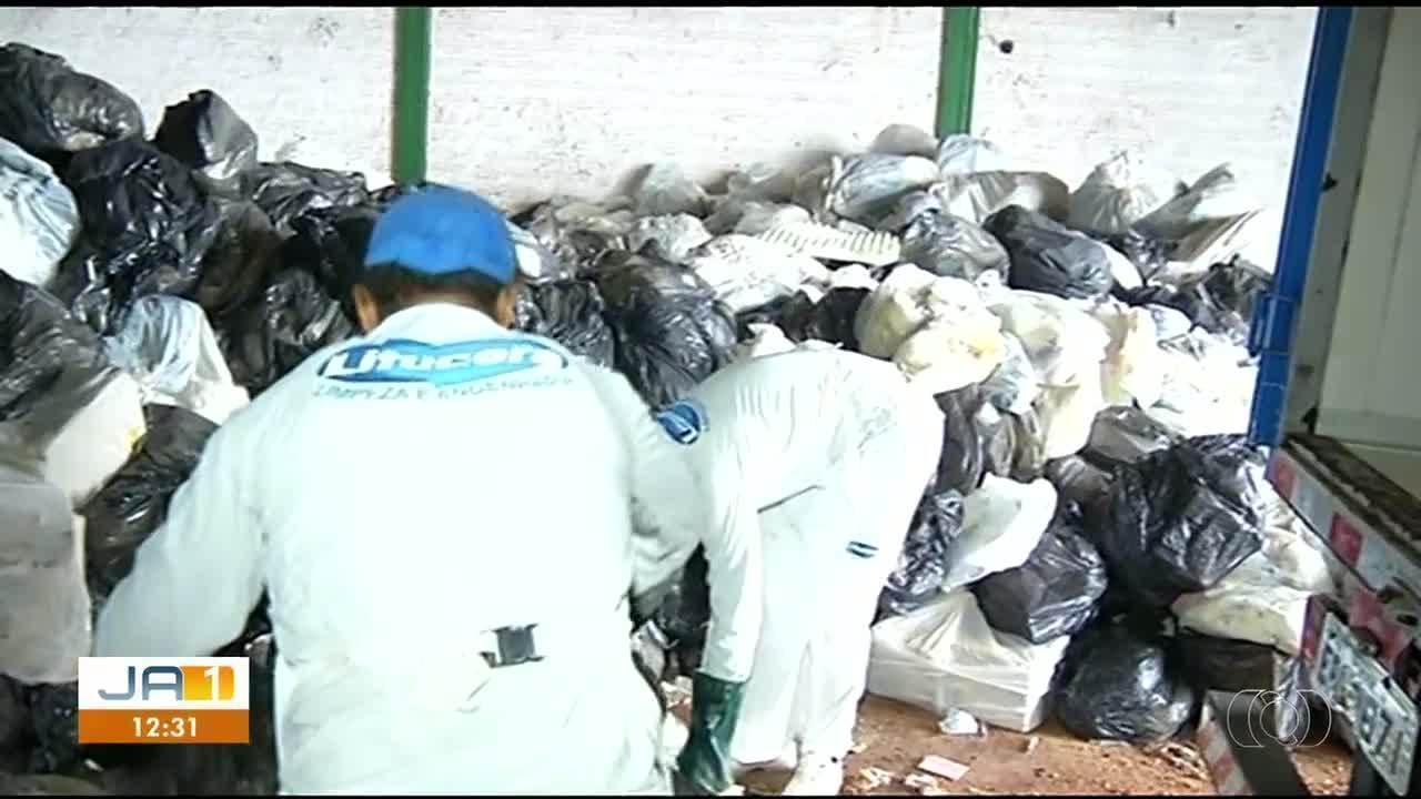 Polícia investiga relação entre empresa e galpão em que foi encontrado lixo hospitalar