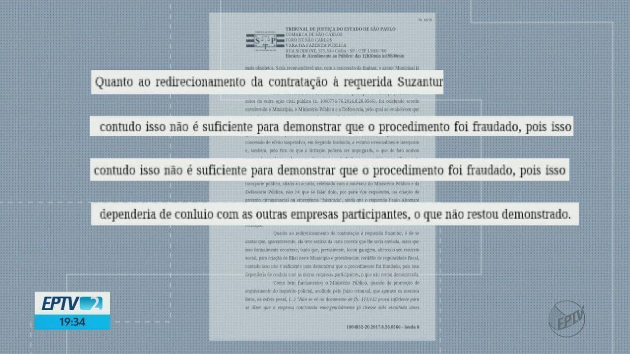 TJ-SP inocenta ex-prefeito, ex-secretário e Suzantur em ação que questionava contrato