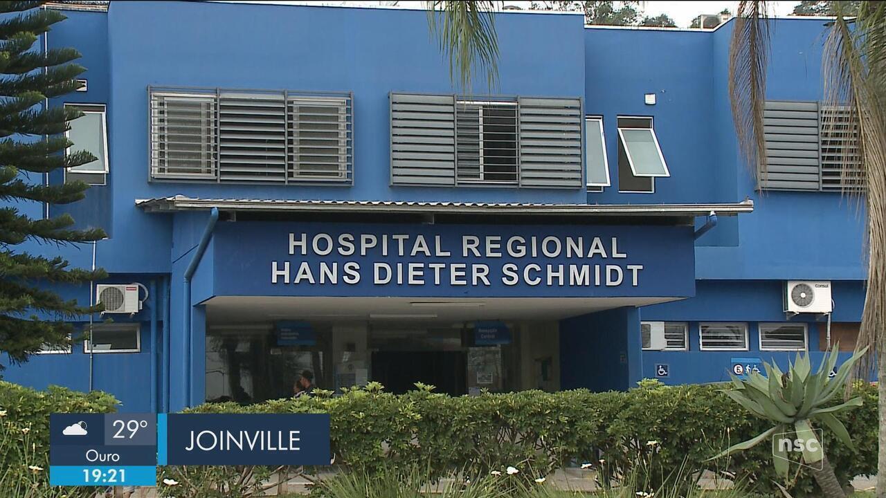 Polícia faz buscas por preso que fugiu de hospital em Joinville