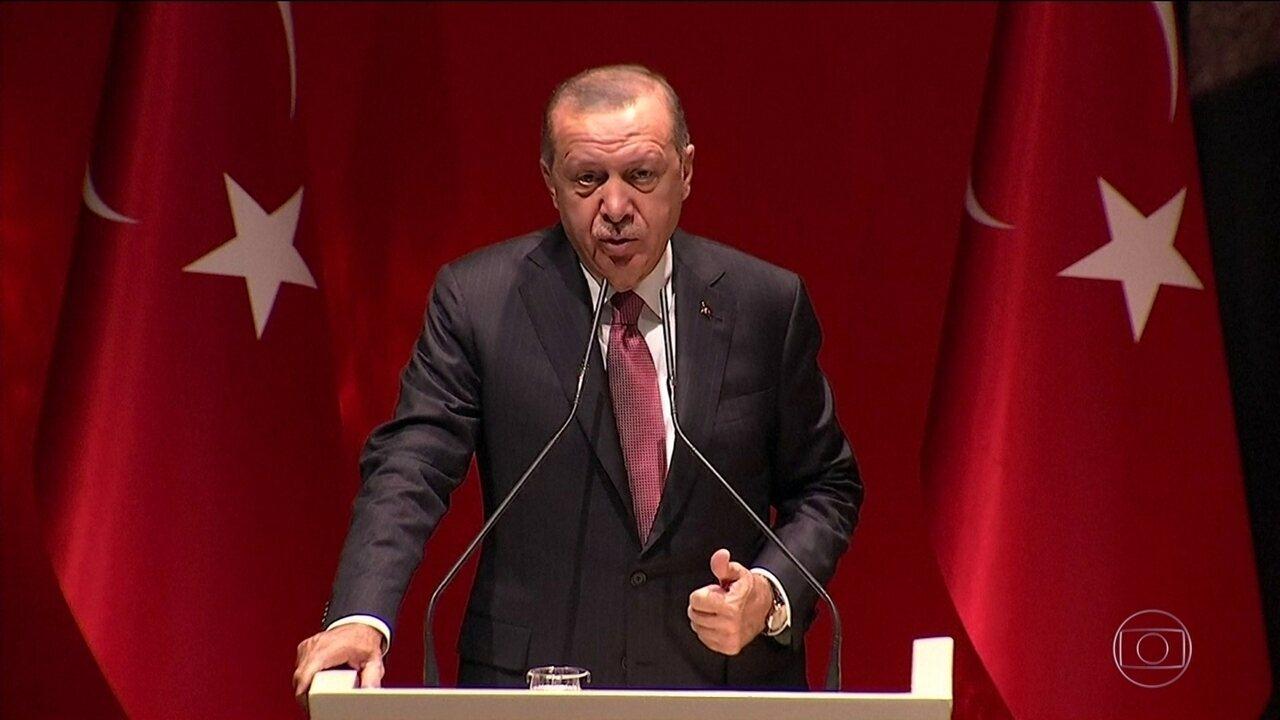 Turquia diz que compartilhou com vários países gravações sobre assassinato de jornalista