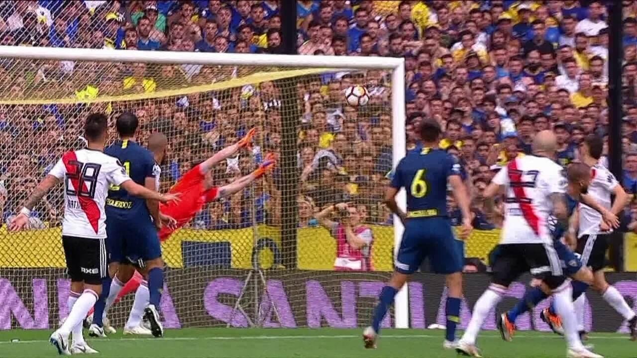 Melhores momentos: Boca Juniors 2 x 2 River Plate pela final da Libertadores 2018