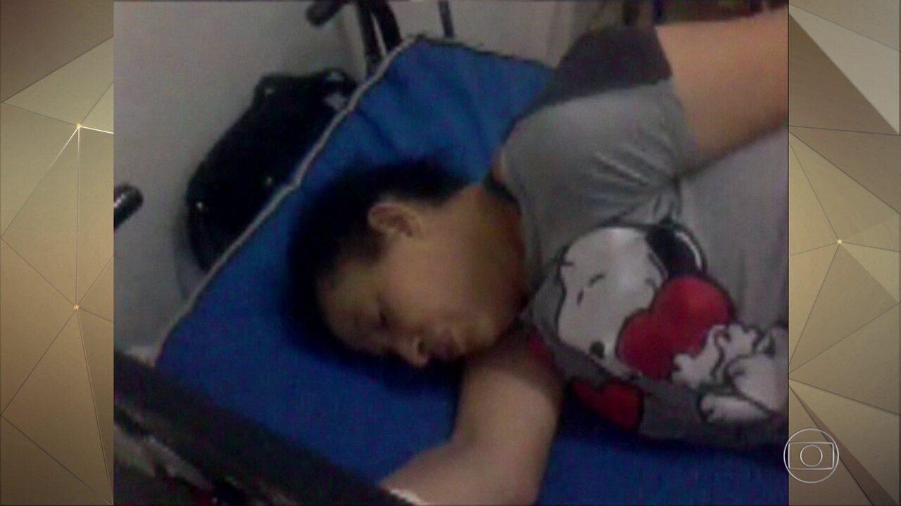 Imagens exclusivas mostram paciente em hospital antes de ter atendimento negado e morrer