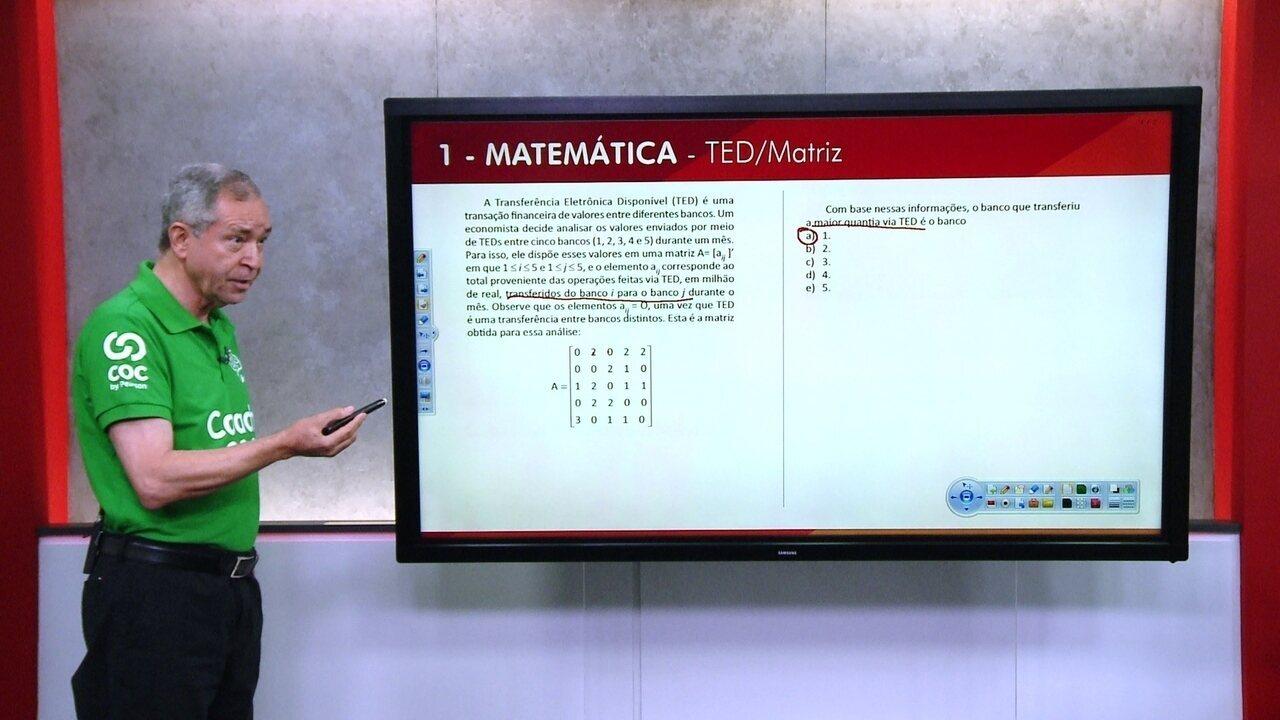 G1 TOP 10 Enem: 1 - Matemática