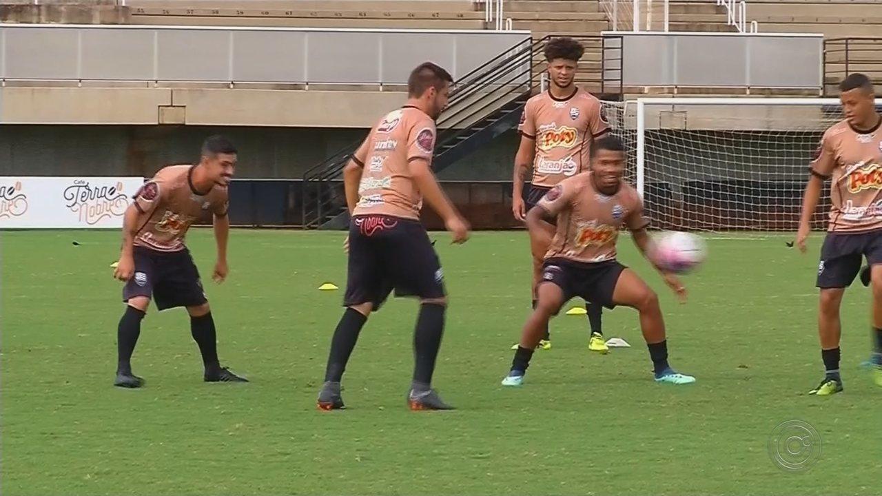 Votuporanguense se prepara para encarar o Atibaia pela semifinal da Copa Paulista