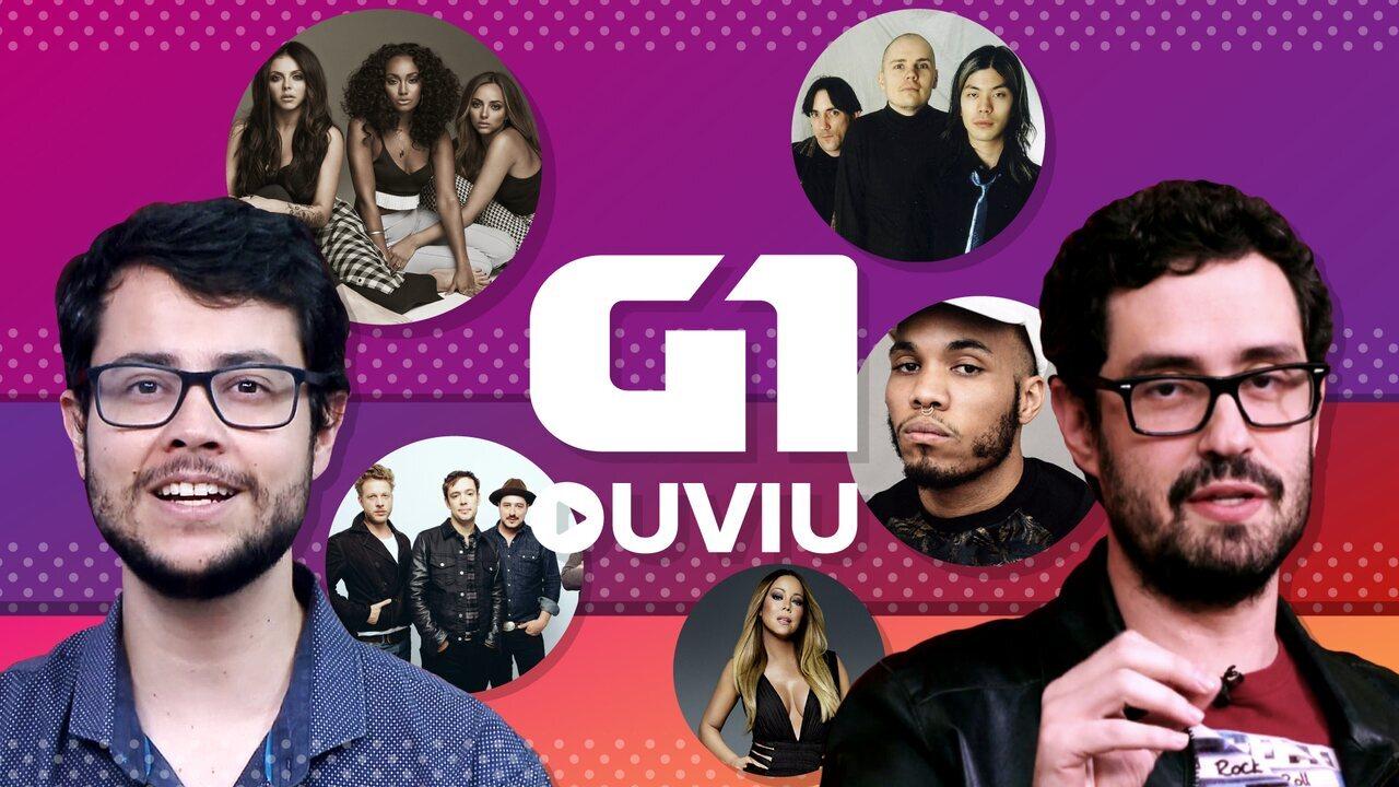 Mariah Carey, Mumford & Sons e Smashing Pumpkins estão em G1 ouviu 'especial álbuns'