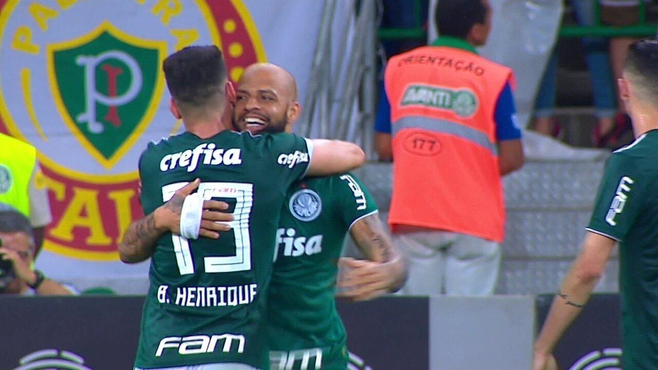 df584edb5d19b Melhores momentos  Palmeiras 3 x 0 Fluminense pela 34ª rodada do Campeonato  Brasileiro