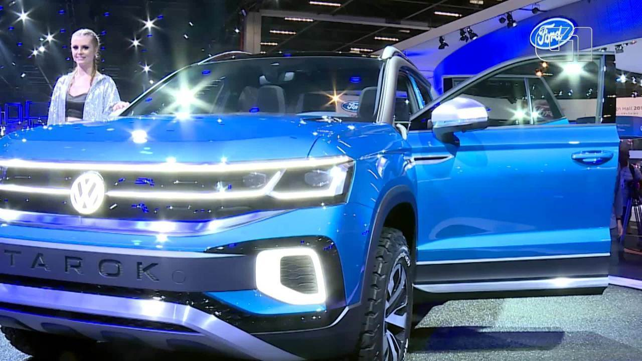 G1 shows the Volkswagen Tarok pickup, one of the highlights of the Auto Show