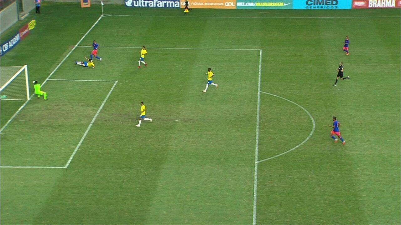 Melhores Momentos: Brasil 0 x 0 Colômbia pelo amistoso internacional sub-20