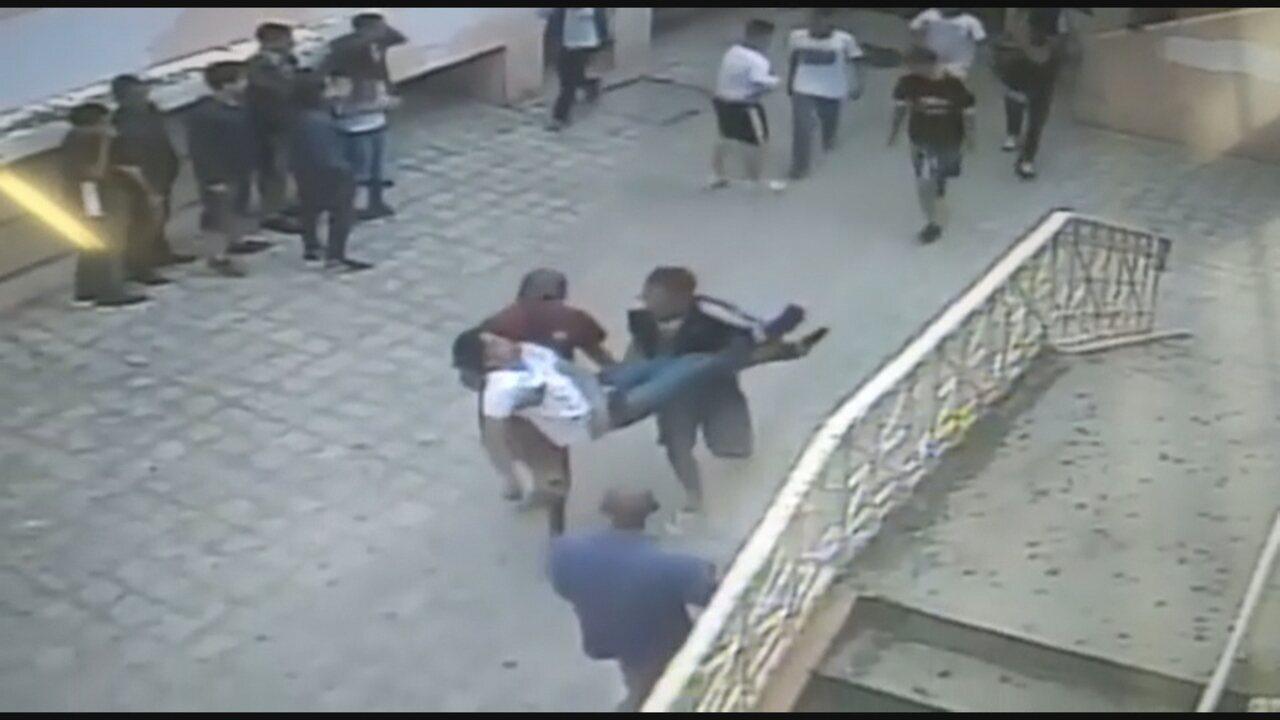 Estudante suspeito de agredir colega em escola de BH tem histórico de agressividade