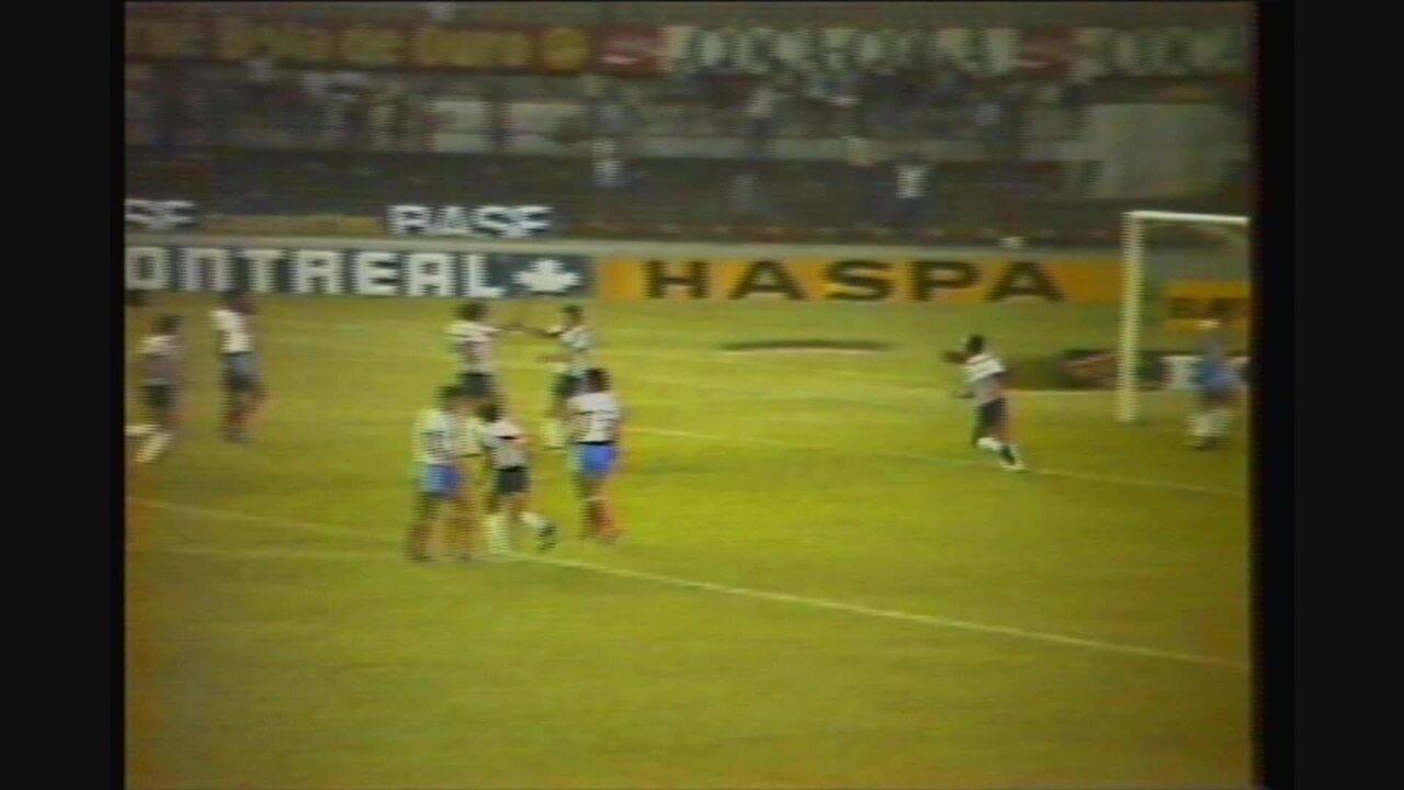 Você se lembra? Atlético-MG goleia Bahia por 6 a 0 no Campeonato Brasileiro de 1984