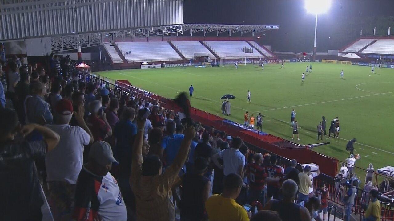 Os melhores momentos de Atlético-GO 1x0 São Bento pela Série B