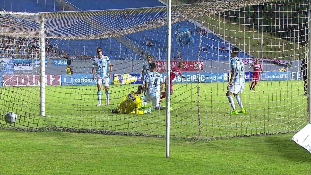 Os gols de Londrina 1 x 2 CRB pela 37ª rodada da Série B do Brasileirão