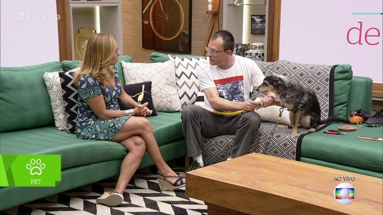 Alexandre Rossi ensina como cortar as unhas de cães e gatos