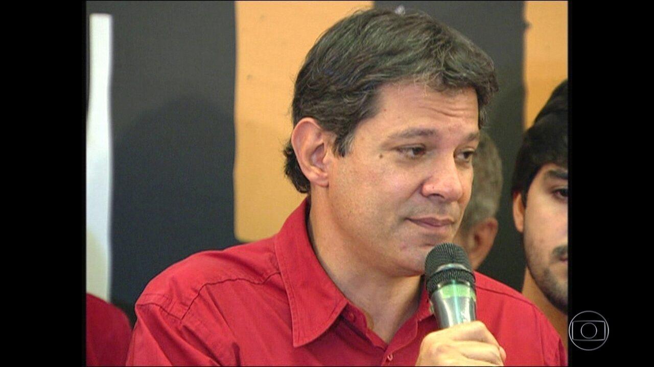 Justiça de São Paulo torna Haddad réu