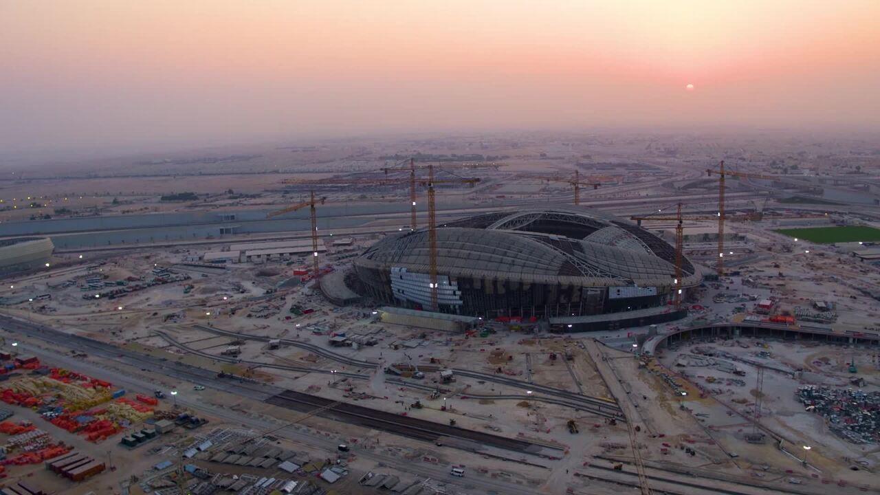 Confira como estava o andamento das obras dos estádios da Copa de 2022 em novembro passado