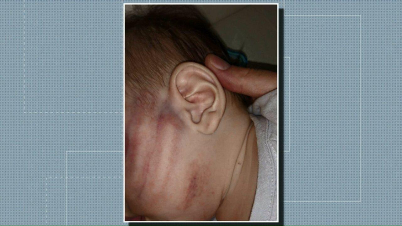 Pai é preso suspeito de agredir bebê no Paraná