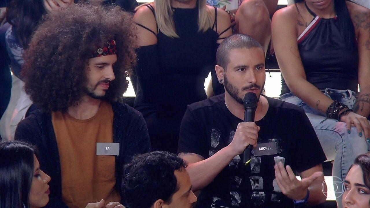 Plateia e convidados falam sobre suruba