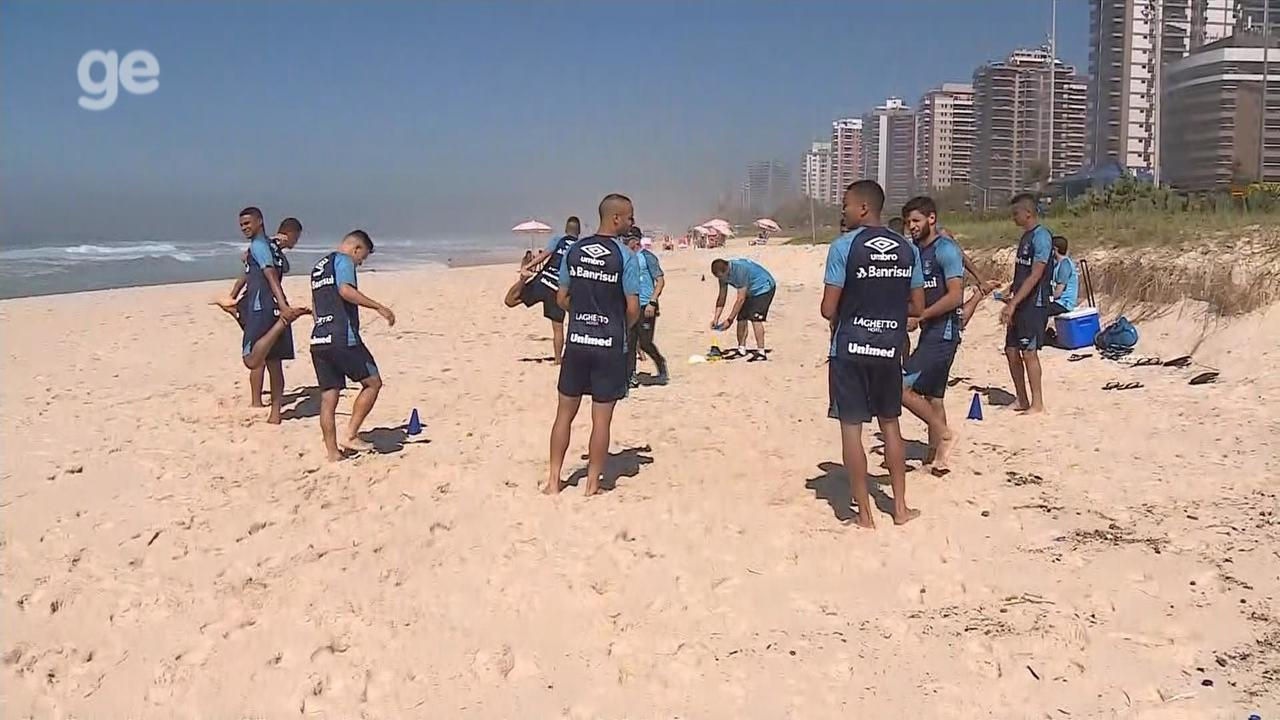 Confira treino do Grêmio no Rio de Janeiro nesta quinta-feira (22)
