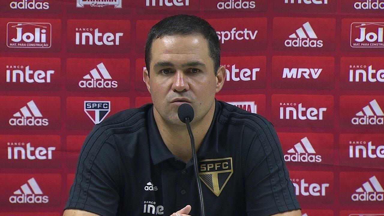 Veja a entrevista do técnico do São Paulo André Jardine após a derrota para o Vasco