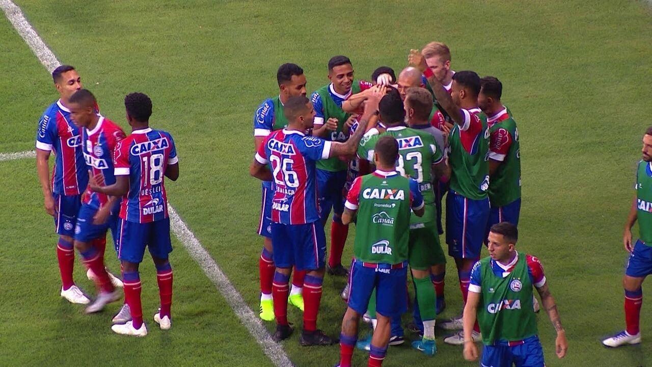 Os gols de Bahia 2 x 0 Fluminense pela 36ª rodada do Campeonato Brasileiro