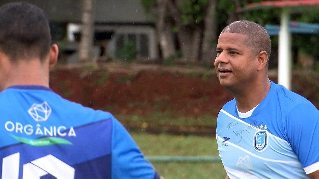 Marcelinho carioca reaparece no mundo do futebol em Brasília