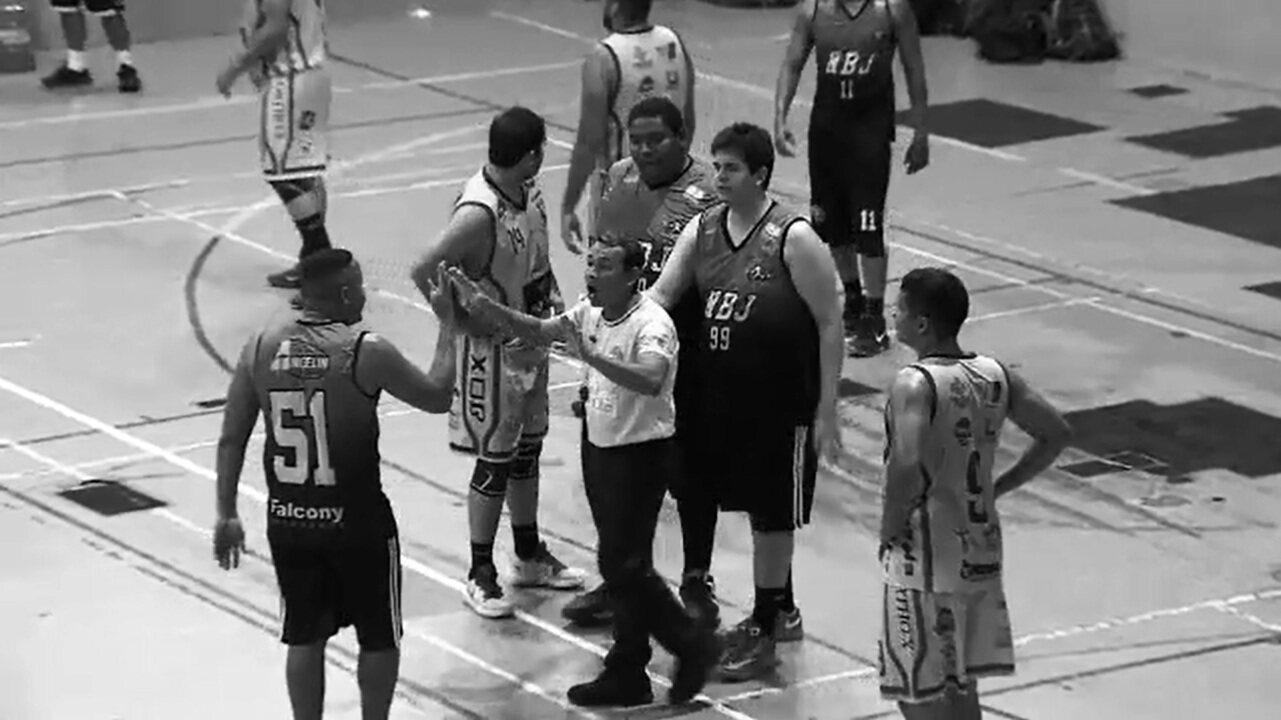 Confusão marca o início dos playoffs do estadual de basquete, no Amapá