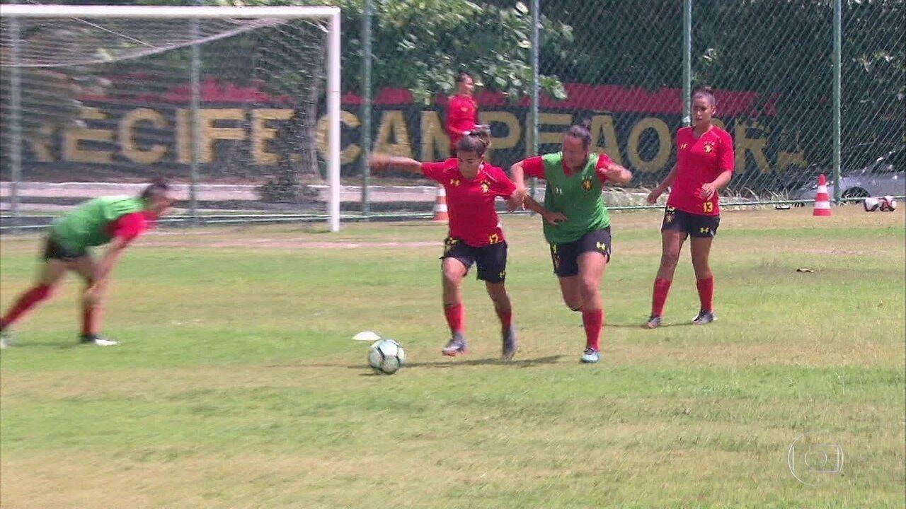Sport e Náutico duelam pelo título do Campeonato Pernambucano de futebol feminino