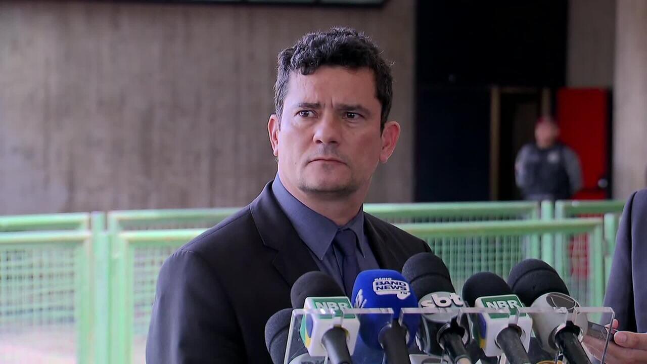 Em coletiva, Moro anunciou indicação do delegado da PF para o Depen
