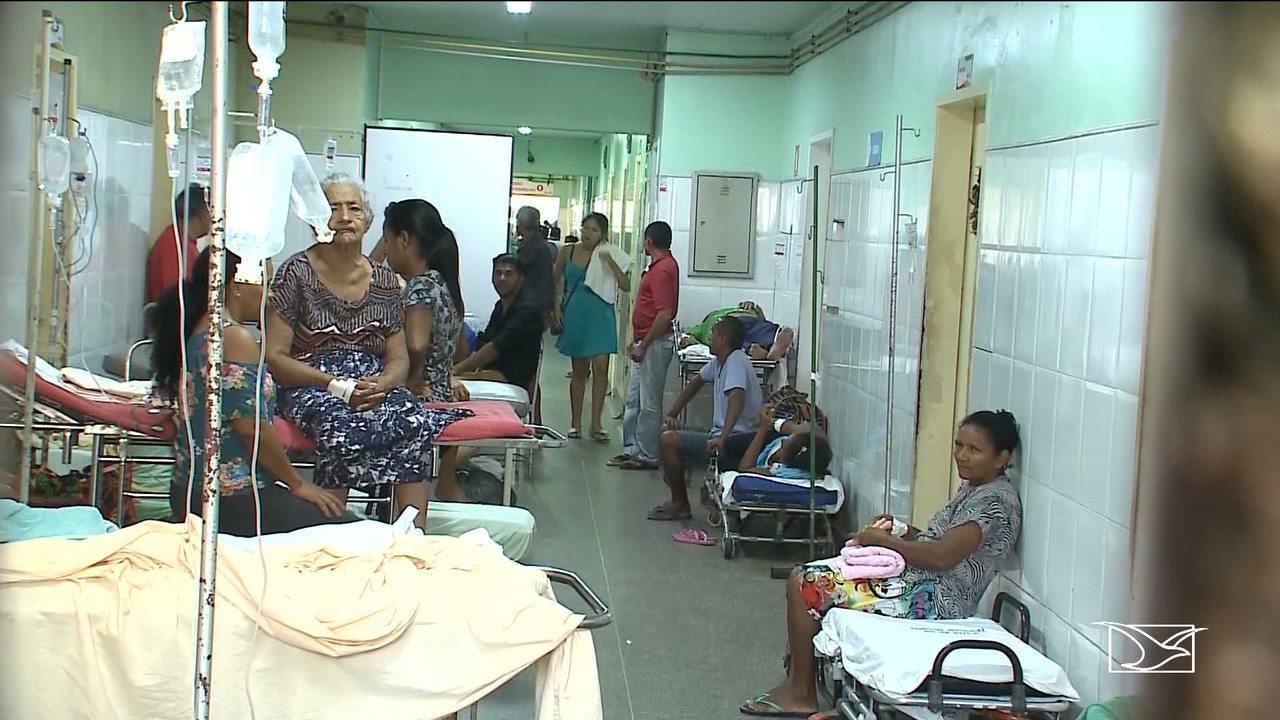 Resultado de imagem para pacientes nos corredores do socorrão II