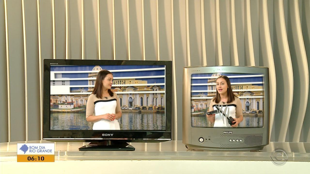 Sinal analógico de TV é desligado em 11 cidades da Região Sul nesta quarta-feira (28)