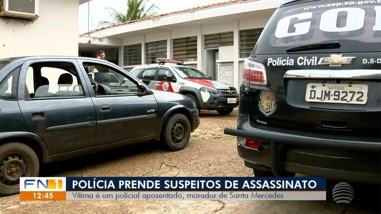 Policial militar reformado é assassinado em Santa Mercedes