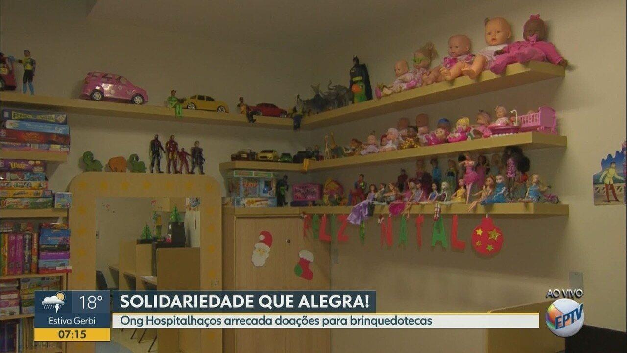 Hospitalhaços faz campanha para arrecadar brinquedos para o Natal