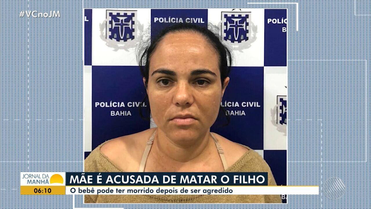 Acusada de matar filho de 3 meses com tapa no rosto é presa