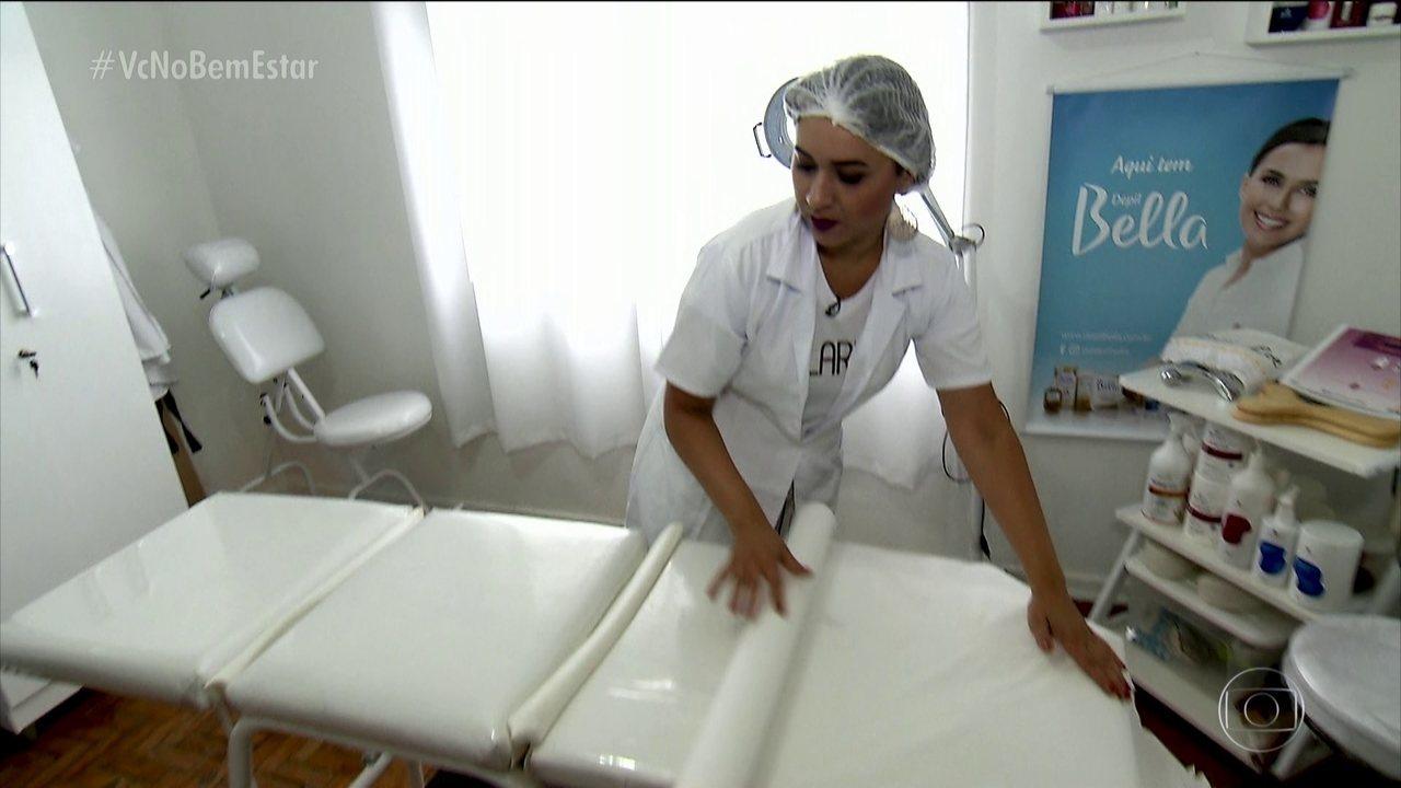 Projeto dá conhecimento às depiladoras para ajudar na saúde das clientes