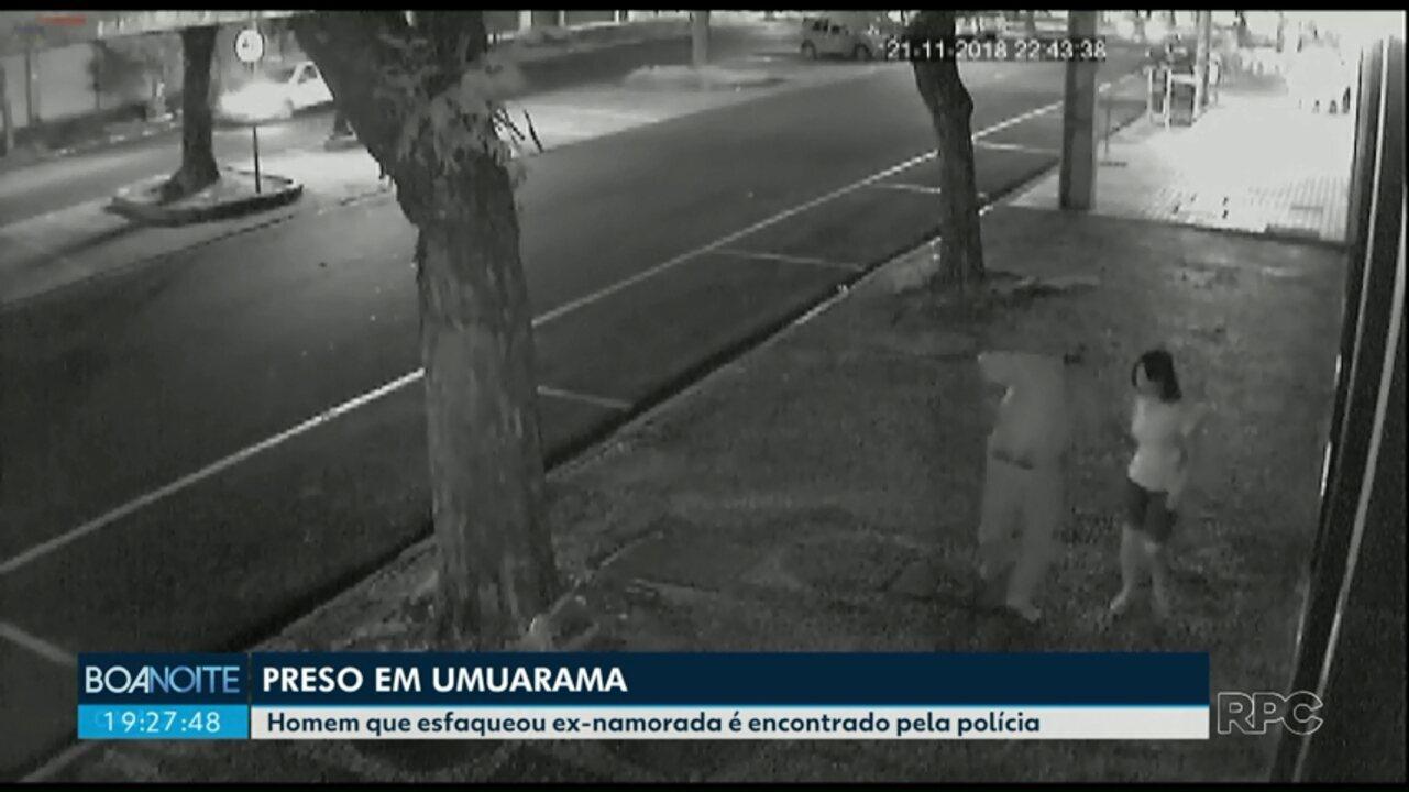 Homem que esfaqueou ex-namorada em Umuarama é encontrado pela polícia