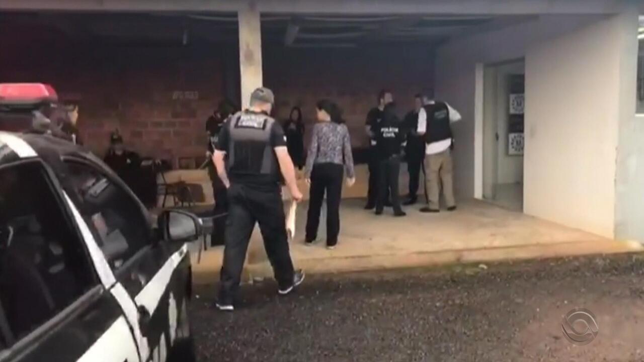 Ação em municípios do Norte do RS prende grupo que recebia ordens de dentro da prisão