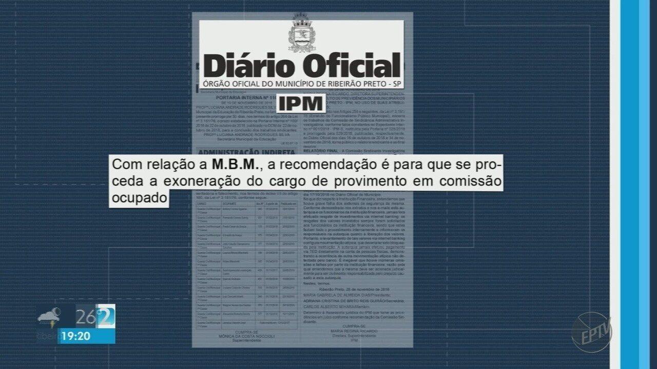 Quase R$ 200 mil são transferidos sem autorização de conta do IPM em Ribeirão Preto