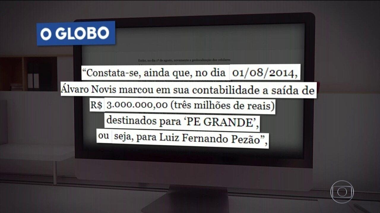 PGR afirma ter rastreado entrega de propina da Fetranspor a Luiz Fernando Pezão