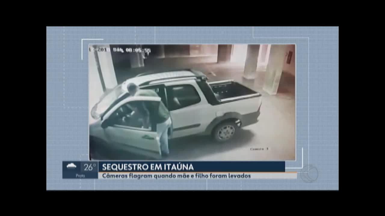 Mãe e filho são rendidos por assaltante em Itaúna