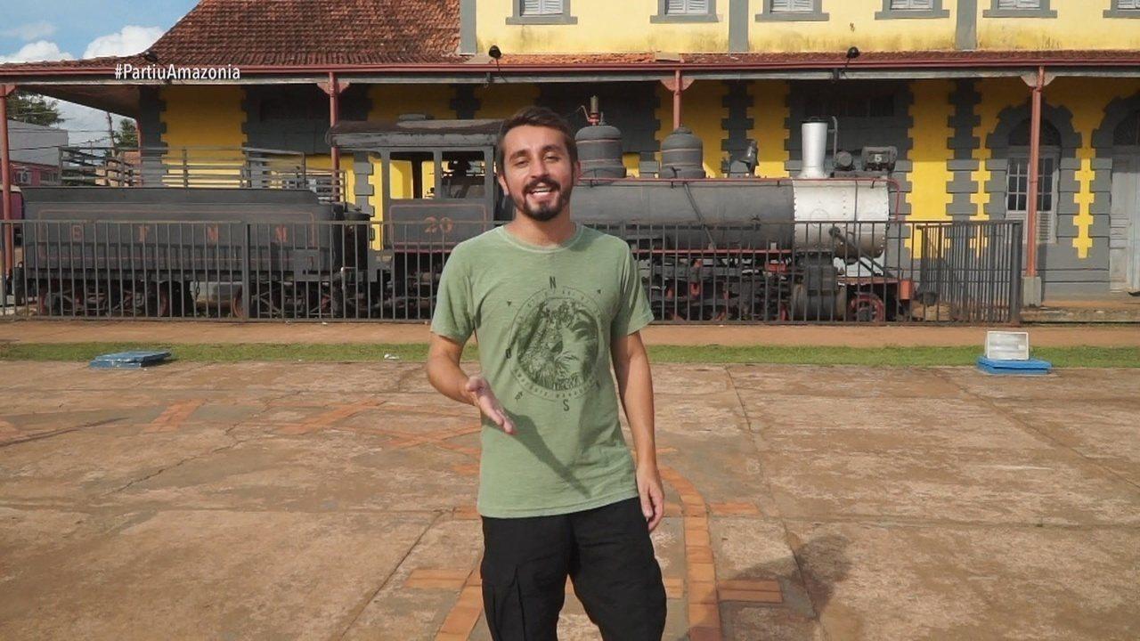 Parte 1: Moacyr Massulo começa viagem por Guajará-Mirim