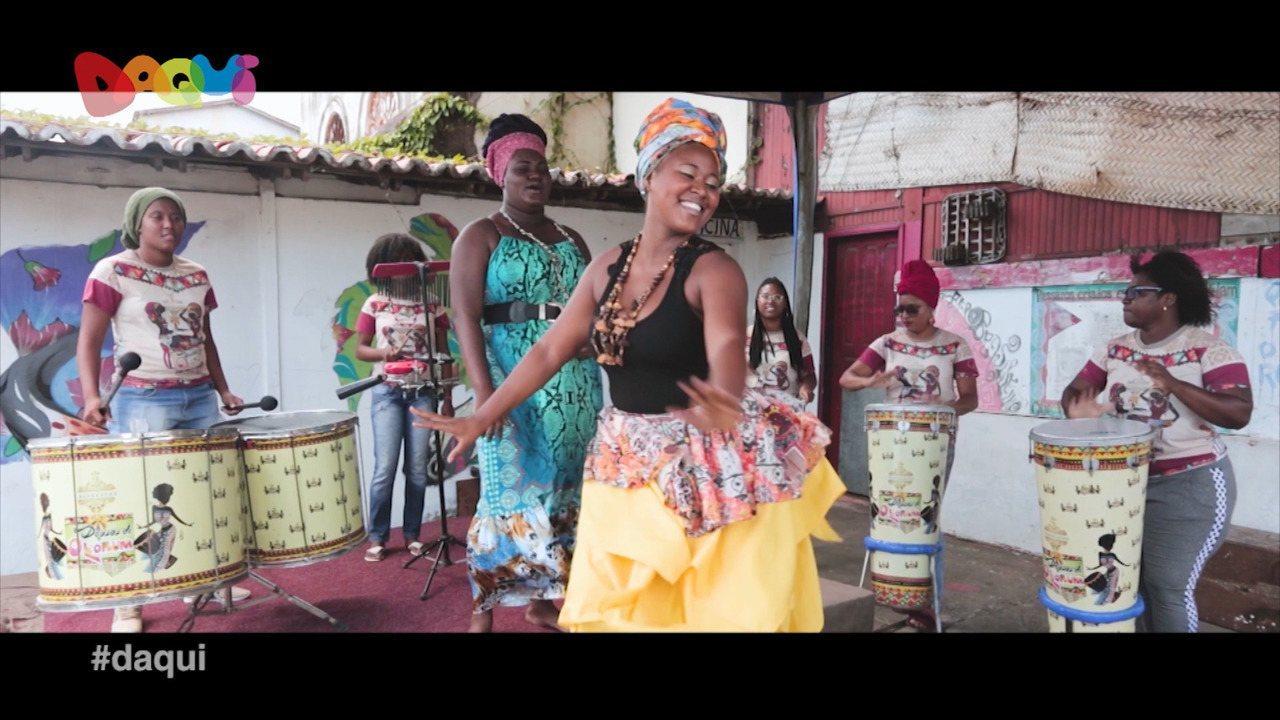 Banda Afro Deusas de Olorum mostra seu trabalho no Daqui