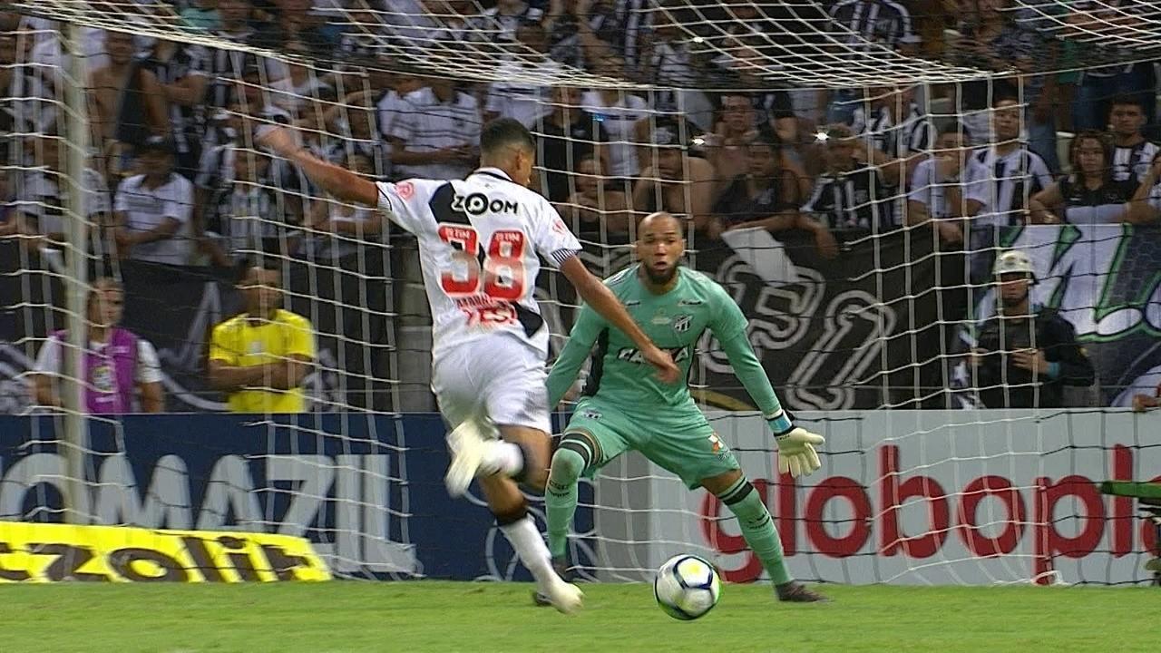 a96615a3c0 Melhores momentos  Ceará 0 x 0 Vasco pela 38ª rodada do Campeonato  Brasileiro
