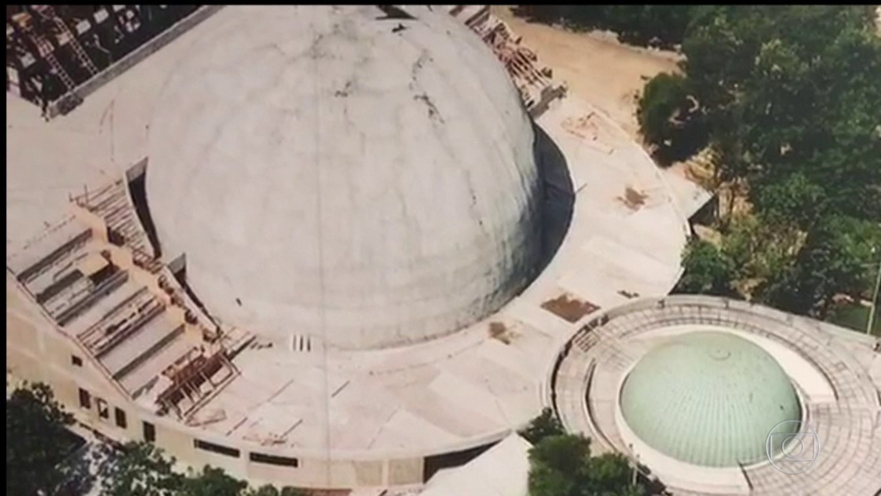 Terreno onde fica o Planetário do Rio de Janeiro vai a leilão