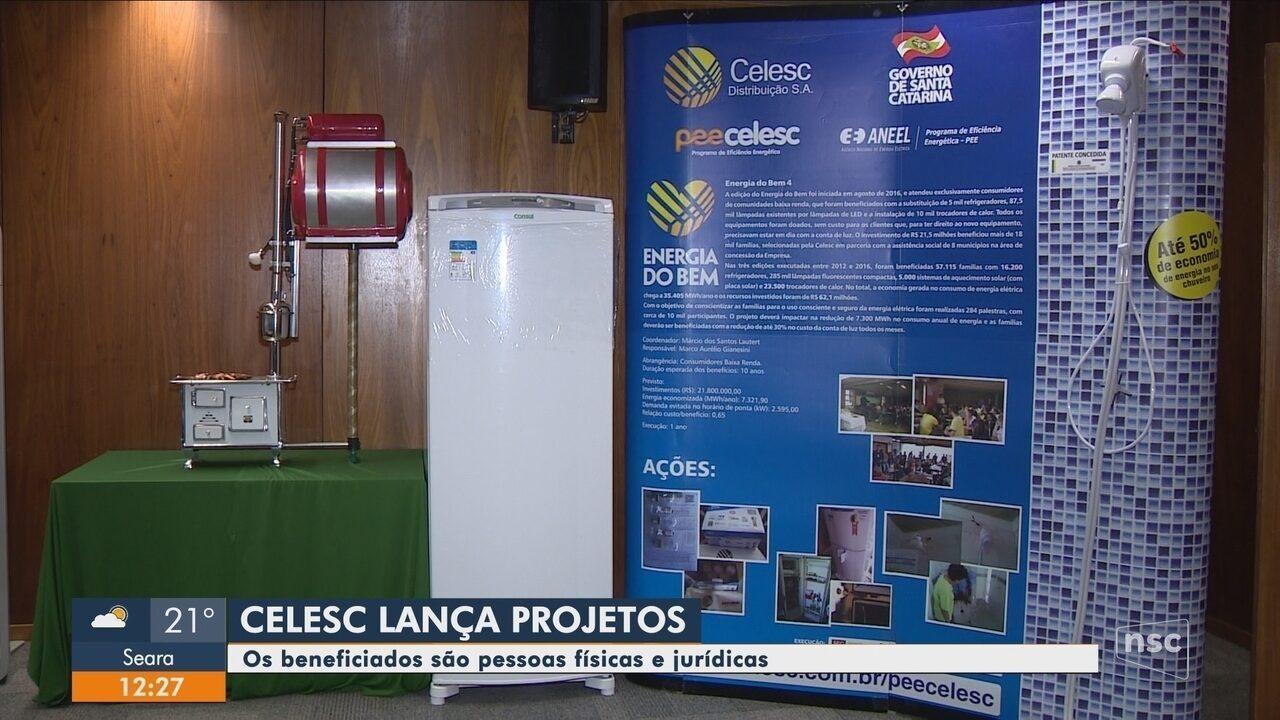 Celesc anunciam lançamento de projetos que vão beneficiar consumidores