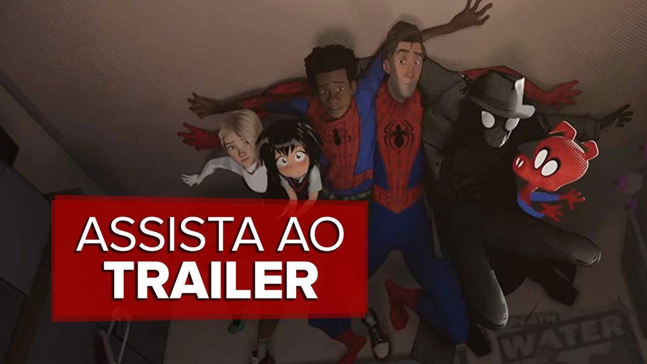 Veja o trailer de 'Homem-Aranha no Aranhaverso