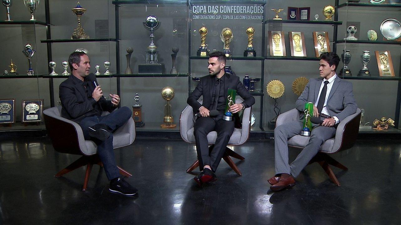 Bruno Henrique e Pedro falam ao vivo no Bem, Amigos!