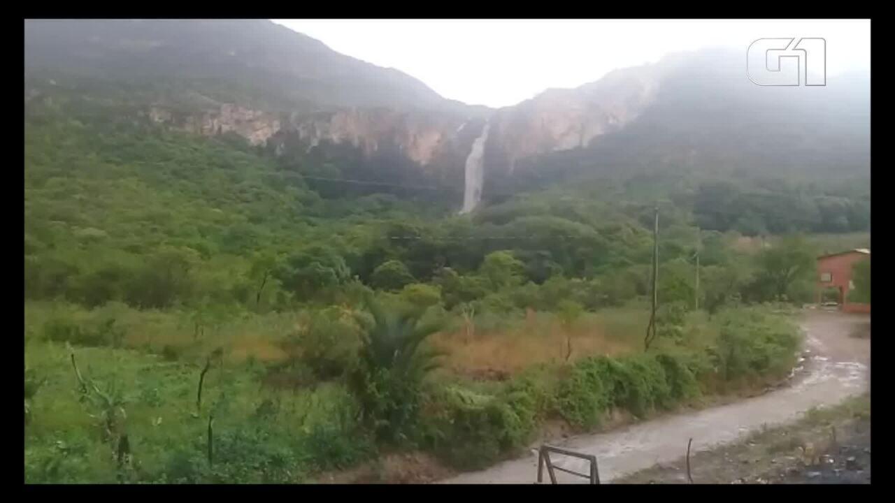 Cachoeira em Mato Verde