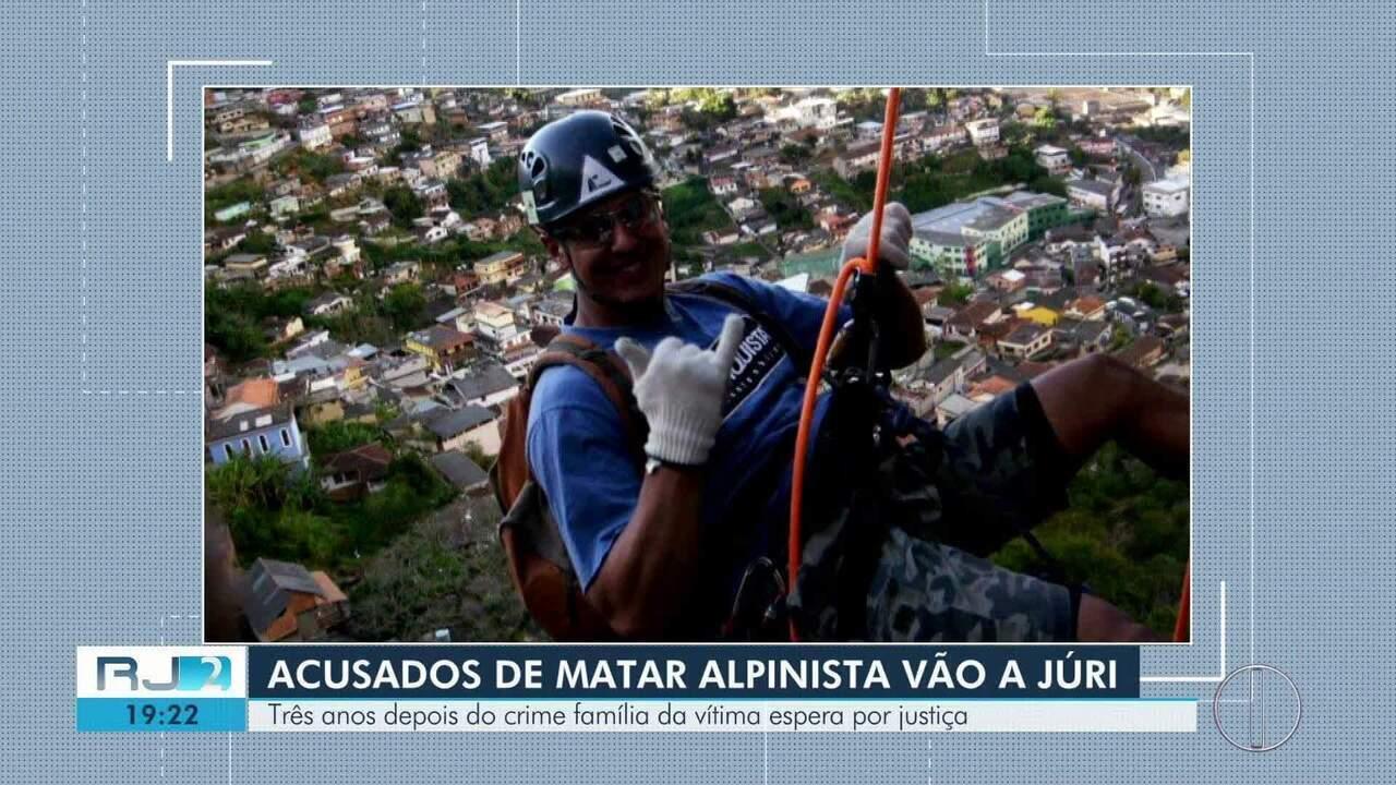 Suspeitos de matar alpinista de Petrópolis, RJ, serão julgados nesta quarta (5)
