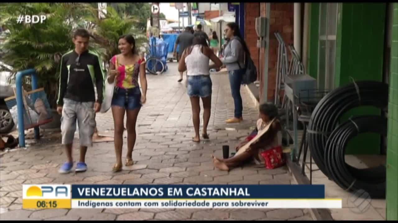 Secretaria de Castanhal busca soluções para retirada de índios venezuelanos das ruas